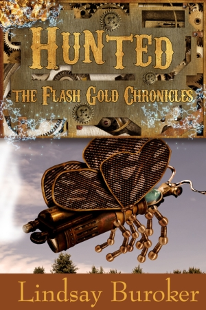 Lindsay Buroker - Hunted Flash Gold Chronicles